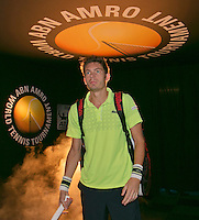 13-02-14, Netherlands,Rotterdam,Ahoy, ABNAMROWTT, Nicolas Mahut(FRA)<br /> Photo:Tennisimages/Henk Koster