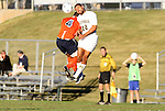 10 November 2010: Wake Forest's Sam Redmond (22) and Virginia's TJ Cyrus (4). The University of Virginia Cavaliers defeated the Wake Forest University Demon Deacons 1-0 at Koka Booth Stadium at WakeMed Soccer Park in Cary, North Carolina in an ACC Men's Soccer Tournament Quarterfinal game.