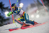 8th February 2019, Are, Sweden; Alpine skiing: Combination, ladies: Greta Small from Australia on the slalom course.