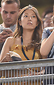 Mai Tanaka, AUGUST 21, 2015 - MLB : Mai Tanaka, wife of Masahiro Tanaka of the New York Yankees, during the Major League Baseball game against the Cleveland Indians at Yankee Stadium in the Bronx, New York, United States. (Photo by AFLO)