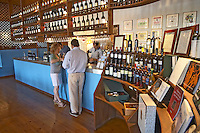 Wine shop. and tasting room. Boutari Wineries, Steinmachos, Naoussa, Macedonia, Greece