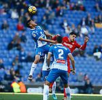 Duarte, RCD Espanyol 0 v 3 Sevilla FC, Jornada 20, RCDE Stadium, La Liga Santander 2017/2018. Barcelona. Photo Martin Seras Lima