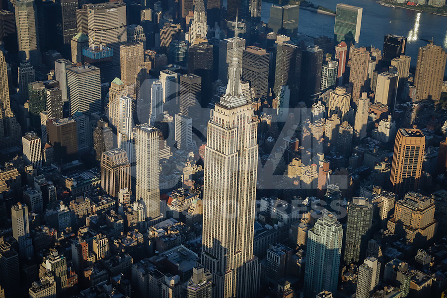 NOVA YORK, EUA, 17.09.2018 - CIDADE-NOVA YORK - Vista aerea Empire State Building da cidade de Nova York nos Estados Unidos (Foto: Vanessa Carvalho/Brazil Photo Press)