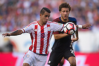 Action photo during the match USA vs Paraguay at Lincoln Financial Field, Copa America Centenario 2016. ---Foto  de accion durante el partido USA vs Paraguay, En el Lincoln Financial Field, Partido Correspondiante al Grupo - D -  de la Copa America Centenario USA 2016, en la foto: Derlis González