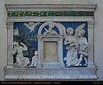 Monument to St. Peter Bartholomew Santa Croce Florence