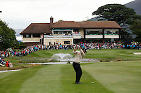Jeev Milka Singh (IND)  on the 18th hole during Day 1 Thursday of The Irish Open presented by Discover Ireland at Killarney Golf & Fishing Club on Thursday 28th July 2011 (Photo Phil Inglis/www.golffile.ie)