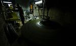 "A Palestinian man prepares a traditional sweets ""Konafa Nabulsi"", in the West Bank city of Nablus, on January 10, 2019. Photo by Shadi Jarar'ah"
