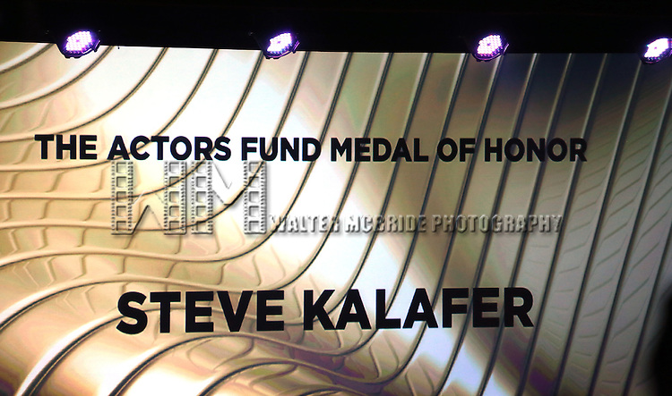 Steve Kalafer  during the presentation of the 2013 Actors Fund Annual Gala honoring Robert De Niro at the Mariott Marquis Hotel in New York on 4/29/2013...
