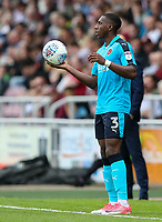 Fleetwood Town's Amari'i Bell <br /> <br /> Photographer Andrew Kearns/CameraSport<br /> <br /> The EFL Sky Bet League One - Northampton Town v Fleetwood Town - Saturday August 12th 2017 - Sixfields Stadium - Northampton<br /> <br /> World Copyright &copy; 2017 CameraSport. All rights reserved. 43 Linden Ave. Countesthorpe. Leicester. England. LE8 5PG - Tel: +44 (0) 116 277 4147 - admin@camerasport.com - www.camerasport.com