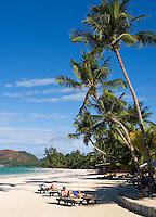 Seychelles, Island Praslin, Anse Volbert: Cote d'Or - beach