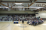 Nevada Gov. Brian Sandoval speaks to students before signing an anti-bullying bill into law at Carson Middle School in Carson City, Nev., on Wednesday, May 20, 2015. <br /> Photo by Cathleen Allison