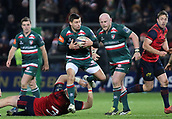 9th December 2017, Thomond Park, Limerick, Ireland; European Rugby Champions Cup, Munster versus Leicester Tigers; Ben Youngs of Leicester Tigers, makes a break