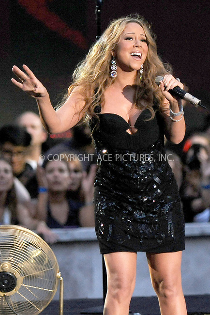 WWW.ACEPIXS.COM . . . . . .September 5, 2012...New York City.... Singer Mariah Carey performs onstage during the 2012 NFL Kick-Off Concert in Rockefeller Center on September 5, 2012 in New York City....Please byline: KRISTIN CALLAHAN - ACEPIXS.COM.. . . . . . ..Ace Pictures, Inc: ..tel: (212) 243 8787 or (646) 769 0430..e-mail: info@acepixs.com..web: http://www.acepixs.com .