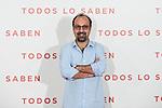 Asghar Farhadi attends to 'Todos lo Saben' film photocall at Urso Hotel in Madrid, Spain. September 12, 2018. (ALTERPHOTOS/A. Perez Meca)