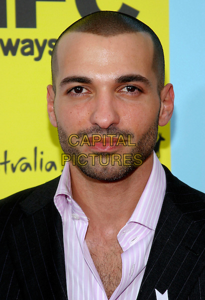 HAAZ SLEIMAN.IFC's 2009 Indie Film Celebration following Film Independent's Spirit Awards held at Shutters on the Beach, Santa Monica, California, USA..February 21st, 2009.headshot portrait stubble facial hair .CAP/ADM/TC.©T. Conrad/AdMedia/Capital Pictures.