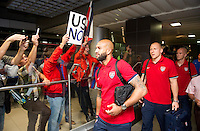 USMNT Arrival, San Jose Costa Rica, September 3, 2013