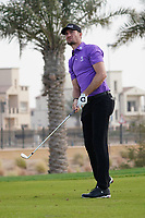 Sebastian Heisele (GER) on the 12th during Round 1 of the Saudi International at the Royal Greens Golf and Country Club, King Abdullah Economic City, Saudi Arabia. 30/01/2020<br /> Picture: Golffile | Thos Caffrey<br /> <br /> <br /> All photo usage must carry mandatory copyright credit (© Golffile | Thos Caffrey)