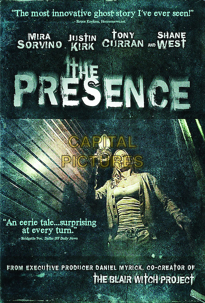 DVD COVER ART.in The Presence .*Filmstill - Editorial Use Only*.CAP/FB.Supplied by Capital Pictures.