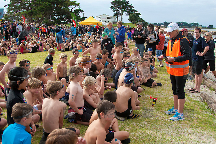 Fulton Swim School Franklin Primary Schools Triathlon held at held at Clarks Beach on Tuesday March 6th 2012.