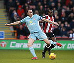 John O'Shea of Sunderland during the Championship match at Bramall Lane Stadium, Sheffield. Picture date 26th December 2017. Picture credit should read: Simon Bellis/Sportimage