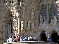 Church of Sagrada Familia, Barcelona, Spain.