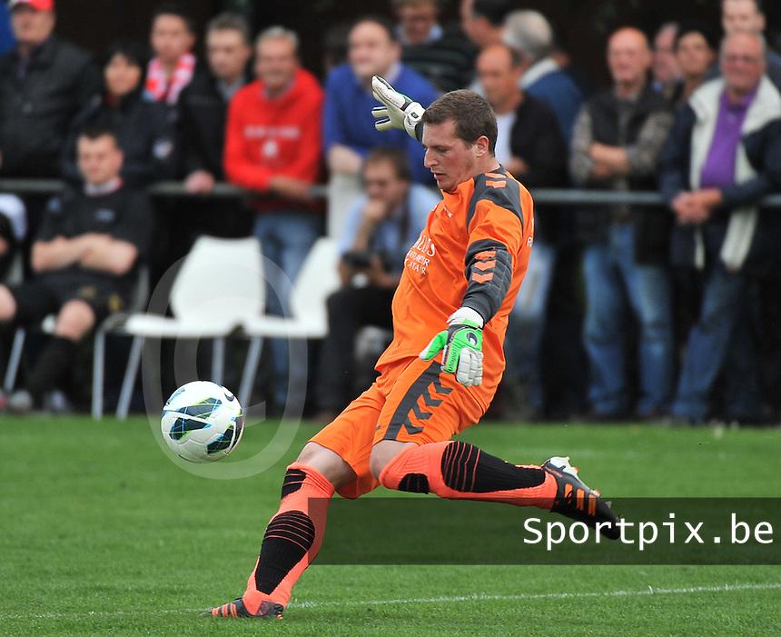 KV Kortrijk - SV Kortrijk : Jean-Francois Debrabandere<br /> foto VDB / Bart Vandenbroucke