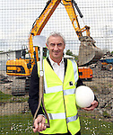 ***FREE PIC***..Ian Rush, elite performance director FAW Trust at the site of the National Football Development Centre...17.05.12.©Steve Pope