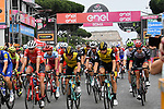 The start of Stage 21 of the 2018 Giro d'Italia, running 115km around the centre of Rome, Italy. 27th May 2018.<br /> Picture: LaPresse/Gian Mattia D'Alberto | Cyclefile<br /> <br /> <br /> All photos usage must carry mandatory copyright credit (&copy; Cyclefile | LaPresse/Gian Mattia D'Alberto)