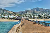 Ventura, CA, Wooden Pier, Boardwalk, Scenic View, beautiful, Pacific Ocean, Waves, Pier POV