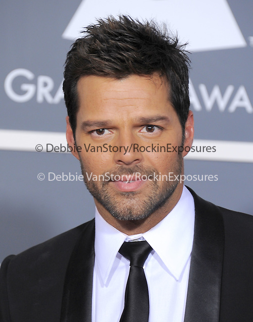 Ricky Martin attends The 53rd Annual GRAMMY Awards held at The Staples Center in Los Angeles, California on February 13,2011                                                                               © 2010 DVS / Hollywood Press Agency
