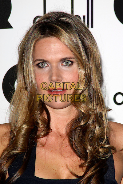 CELIA WALDEN.The GQ Men of The Year Awards held at The Royal Opera House, Covent Garden, London, England, UK..September 7th 2010.headshot portrait blue .CAP/AH.©Adam Houghton/Capital Pictures.