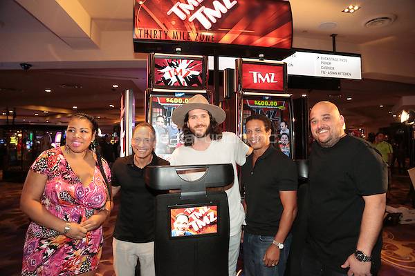 LAS VEGAS  -- TMZ Executive Producer, Harvey Levin, TMZ Staffers and special guest Tara Reid attended the official launch party of IGT&rsquo;s new game, TMZ Video Slots, at Hard Rock Casino &amp; Hotel in Las Vegas. <br /> Credit GDP Photos/MediaPunch