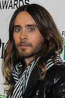 SANTA MONICA, CA, USA - MARCH 01: Jared Leto in the press room during the 2014 Film Independent Spirit Awards held at Santa Monica Beach on March 1, 2014 in Santa Monica, California, United States. (Photo by Xavier Collin/Celebrity Monitor)