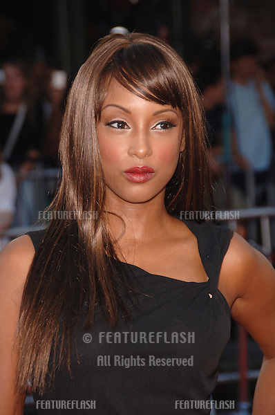 "Actress TRINA McGEE at the world premiere, in Los Angeles, of ""Miami Vice."".July 20, 2006  Los Angeles, CA.© 2006 Paul Smith / Featureflash"