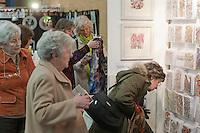 Display of prints & cards (www.janehickmanbatik.com), Craft & Design Show (www.craftinfocus.com), Spectrum Leisure Centre, Guildford.
