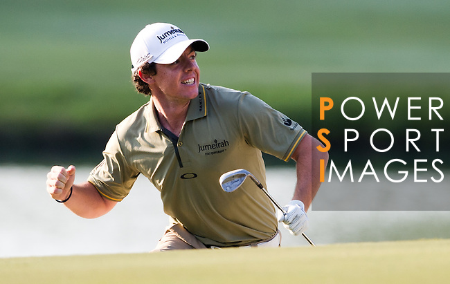 Action during Round 4 of the UBS Hong Kong Golf Open 2011 at Fanling Golf Course in Hong Kong on 4 December 2011. Photo © Victor Fraile / The Power of Sport Images