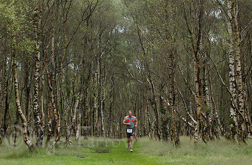 18 JUL 2010 - HATHERSAGE, GBR - John Gibbon - Hathersage Hilly Triathlon (PHOTO (C) NIGEL FARROW)