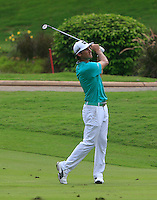 Will MacKenzie (USA) on the 17th during Round 3 of the CIMB Classic in the Kuala Lumpur Golf & Country Club on Saturday 1st November 2014.<br /> Picture:  Thos Caffrey / www.golffile.ie