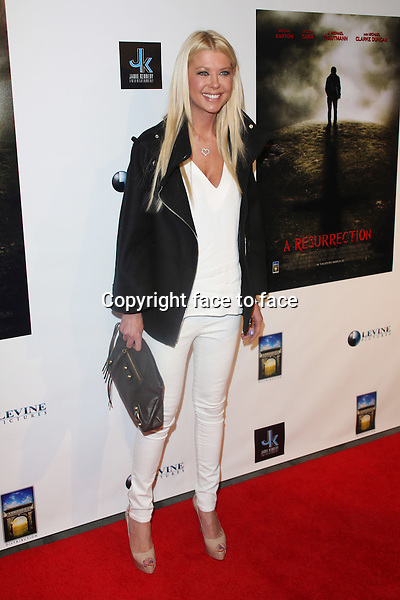 """Tara Reid at the premiere of """"A Resurrection"""" at ArcLight Sherman Oaks on March 19, 2013 in Sherman Oaks, California. ..Credit: MediaPunch/face to face..- Germany, Austria, Switzerland, Eastern Europe, Australia, UK, USA, Taiwan, Singapore, China, Malaysia and Thailand rights only -"""