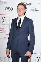 George Mackay<br /> at the 2017 Critic's Circle Film Awards held at the Mayfair Hotel, London.<br /> <br /> <br /> ©Ash Knotek  D3219  22/01/2017