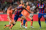 Crystal Palace midfielder Ruben Loftus-Cheek (C) competes for the ball with Liverpool FC players during the Premier League Asia Trophy match between Liverpool FC and Crystal Palace FC at Hong Kong Stadium on 19 July 2017, in Hong Kong, China. Photo by Yu Chun Christopher Wong / Power Sport Images