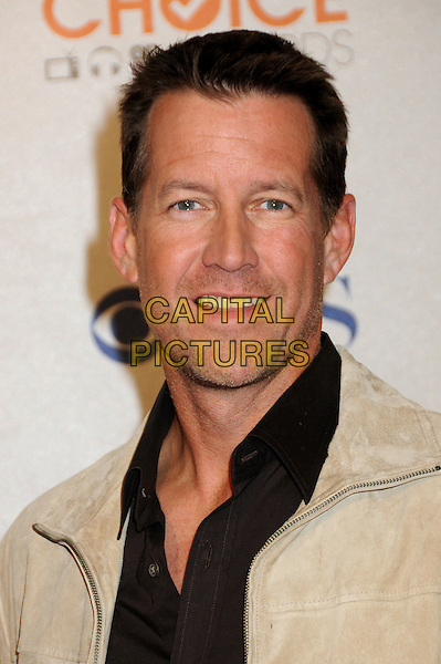 JAMES DENTON.Pressroom at the 36th Annual People's Choice Awards held at the Nokia Theatre LA Live, Los Angeles, California, USA..January 6th, 2009.press room headshot portrait stubble facial hair brown cream suede black.CAP/ADM/BP.©Byron Purvis/AdMedia/Capital Pictures.