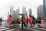 Asie, Chine, Shanghai, Pudong, quartier d'affaires//Asia, China, Shanghai, Pudong, business district