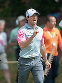 20.07.2014. Hoylake, England. The Open Golf Championship, Final Round. Rory MCILROY [NIR]  very happy with his driving from the tees