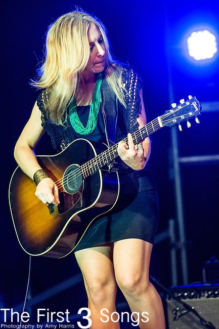Erika Wennerstrom of Heartless Bastards performs at the 2014 Bunbury Music Festival in Cincinnati, Ohio