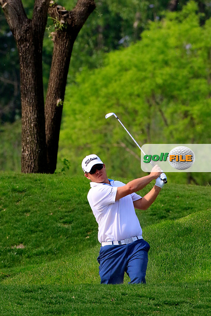 George Coetzee (RSA) during the final round of the Volvo China Open played at Topwin Golf and Country Club, Huairou, Beijing, China 27- 30 April 2017.<br /> 30/04/2017.<br /> Picture: Golffile | Phil Inglis<br /> <br /> <br /> All photo usage must carry mandatory copyright credit (&copy; Golffile | Phil Inglis)