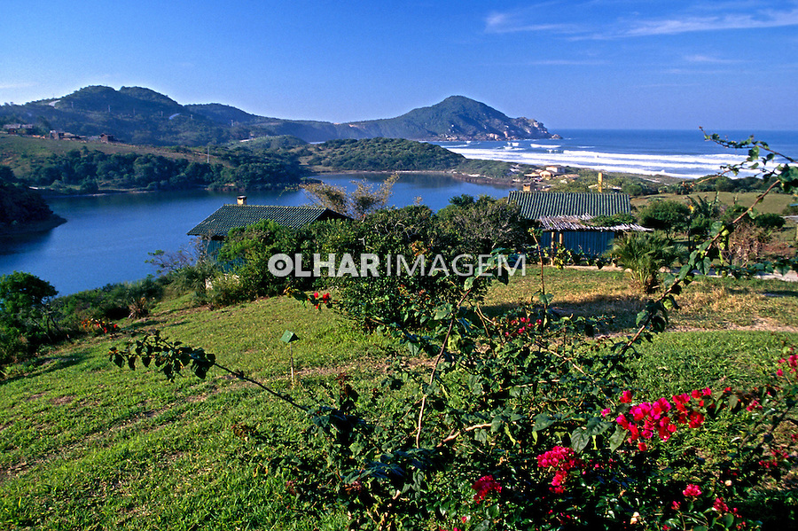 Praia do Rosa em Imbituba. Santa Catarina. 1997. Foto de Marcos Issa.