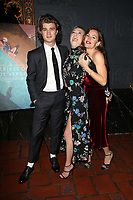 LOS ANGELES, CA - NOVEMBER 17: Joe Keery, Maika Monroe, Jennifer Garner, at the Tribes Of Palos Verdes Premiere at The Ace Hotel Theater in Los Angeles, California on November 17, 2107. Credit: Faye Sadou/MediaPunch /NortePhoto.com