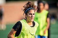 Boston, MA - Sunday September 10, 2017: Angela Salem during a regular season National Women's Soccer League (NWSL) match between the Boston Breakers and Portland Thorns FC at Jordan Field.