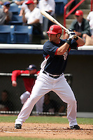 Washington Nationals Ryan Church during a Grapefruit League Spring Training game at Spacecoast Stadium on March 19, 2007 in Melbourne, Florida.  (Mike Janes/Four Seam Images)